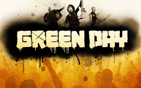Picture music, green, Wallpaper, punk, group, music, rock, rock, wallpapers, day, 1920x1080, punk, Billie Joe Armstrong, …
