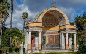 Picture Park, Italy, gazebo, Sicily, Palermo, Villa Giulia