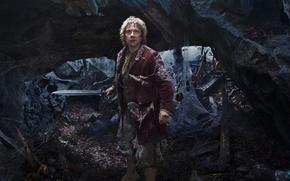 Picture web, sword, fantasy, Martin Freeman, Martin Freeman, The Hobbit: An Unexpected Journey, The hobbit: an ...