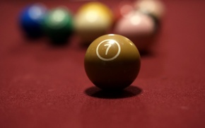 Wallpaper balls, table, sport, Billiards