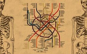 Wallpaper Metro, The Moscow Metro, Heart