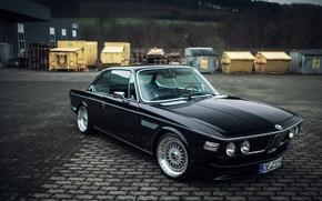 Picture BMW, BMW, 1971, BBS, 3.0, Stance, CSi