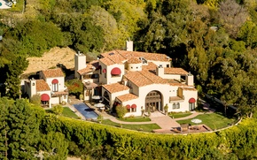 Picture house, Villa, ranch, luxury ranch and farm