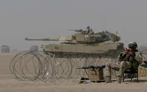 Wallpaper soldiers, reads, abrams, m1a2