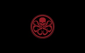 Picture sake, red, Marvel, tentacles, Hydra, Hail
