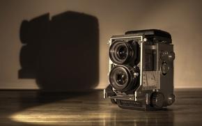 Picture background, camera, Mamiya C3