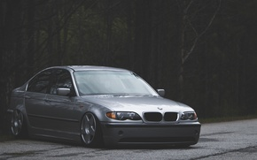 Picture BMW, BMW, three, Drives, 3 series, Stance, E43