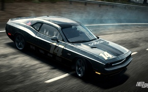 Picture Dodge Challenger, Need for Speed, nfs, 2013, Rivals, NFSR, NSF