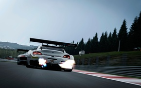 Picture race, speed, BMW