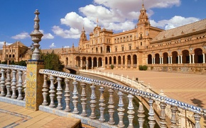 Picture area, Seville, Andalusia, Spain, center