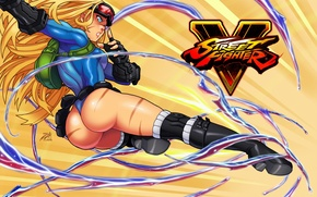 Wallpaper ass, girl, feet, blow, fighter, Cammy, Street Fighter, Cammy White