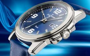 Picture blue, watch, Jack Pierre