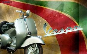 Picture scooter, Piaggio, VESPA, cult Italian