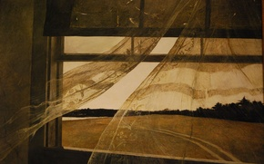 Picture Andrew Wyeth, 1947, The wind from the sea