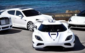 Picture Phantom, Koenigsegg, Ferrari, Desktop, Machine, Ferrari, White, Porsche, Beautiful, Cars, White, Wallpapers, Cars, Agera R, …