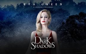 Picture Dark Shadows, Eva green, dark shadows