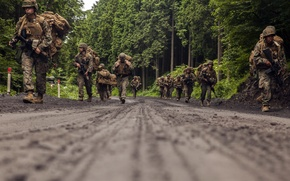 Wallpaper army, soldiers, exercises