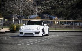 Picture tuning, Porsche, Carrera S, the newly-fallen snow, Misha Designs