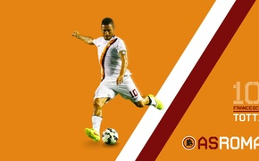 Picture wallpaper, sport, football, player, AS Roma, Francesco Totti