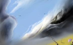 Wallpaper fantasy, flight, dream