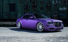 Picture Chrysler, wheels, 300, vossen, purple
