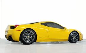 Picture coupe, Ferrari, supercar, 458