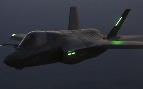 Picture night, Air Force, F-35, Aviation