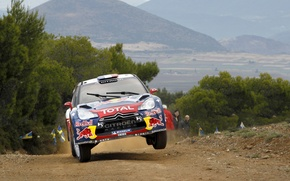 Picture Turn, Race, Citroen, Citroen, Red Bull, DS3, WRC, Rally