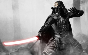 Picture toy, Star Wars, samurai, figurine, Darth Vader, Star Wars, Darth Vader