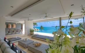 Picture design, style, Villa, interior, living space
