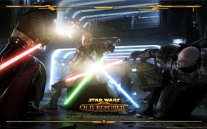 Picture Star Wars, star wars, the battle, Jedi, lightsaber, the old republic, jedi, Sith, sith, the …