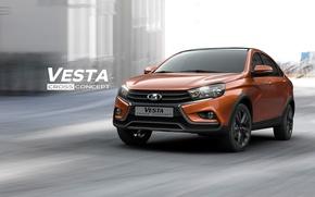 Picture concept, the concept, VAZ, Lada, AVTOVAZ, lada vesta cross, Lada Vesta, Lada Vesta cross, lada …