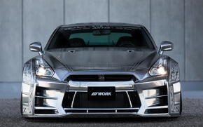 Picture GTR, Nissan, Front, Racing, View, Kuhl