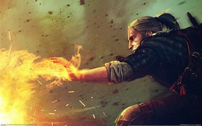 Picture magic, game, wallpapers, witcher 2, Geralt, the Witcher 2