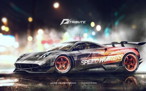 Picture Game, Pagani, Need for Speed, Cars, The Tuning Side
