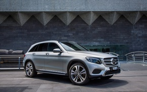Wallpaper Mercedes-Benz, SUV, Mercedes, X253, GLC-Class