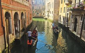 Picture Italy, Venice, channel, Italy, gondola, Venice, Italia, Venice, canal