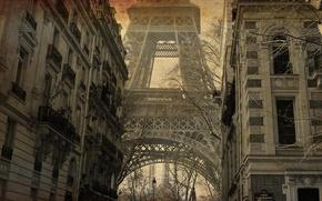 Picture Paris, treatment, Eiffel tower, the