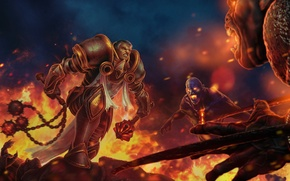 Wallpaper diablo 3, reaper of souls, rpg, crusader