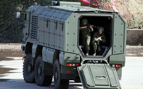 """Picture KAMAZ-63968, """"Typhoon"""", Universal, Armored, High, Security, 6x6, Car"""