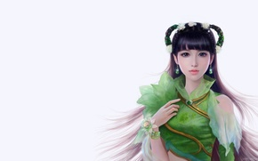 Picture girl, fantasy, the game, art, character