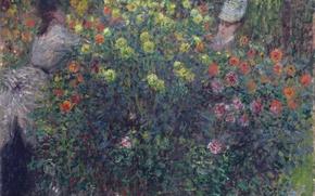 Picture picture, Claude Monet, genre, Girls in the Garden