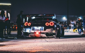 Picture night, GTR, Nissan