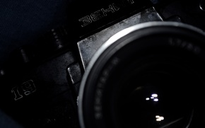 Picture BLACK, MACRO, The CAMERA, LENS, ZENIT