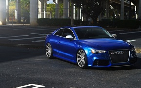 Picture Audi, Blue, RS5