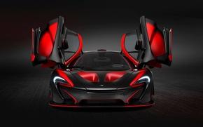 Picture red, black, McLaren, McLaren, FAS