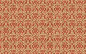 Picture leaves, background, Wallpaper, figure, curls, texture, ornament, floral patterns