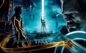 Wallpaper Jeff Bridges, Tron Legacy, Tron, The throne