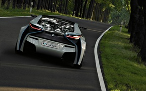 Wallpaper road, Auto, speed, Others BMW prototype, nature