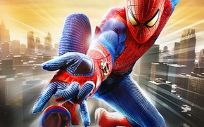 Picture the city, Marvel, The Amazing Spider-Man, Amazing spider-Man, Peter Parker, Peter Parker